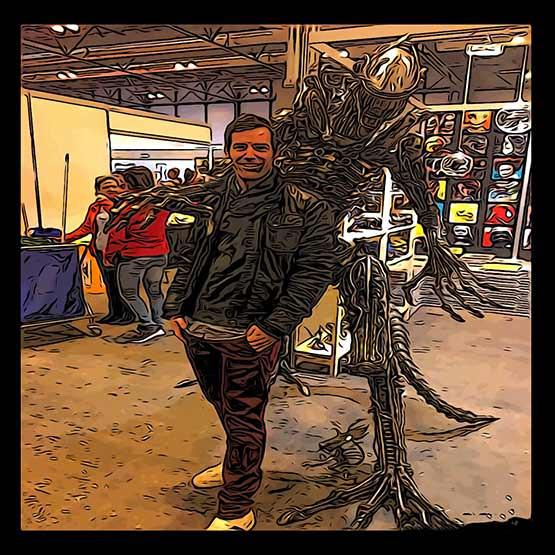 Alien sobre mí