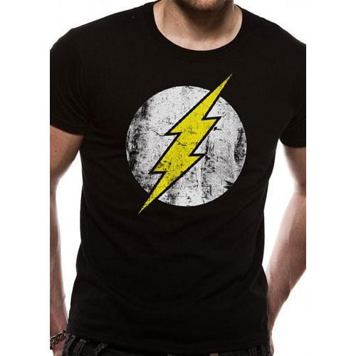 camiseta flash logo dc comics