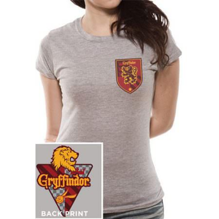 camiseta harry potter gryffindor escudo