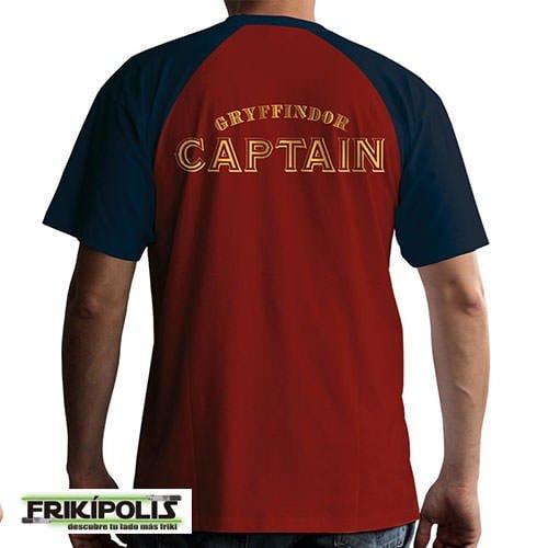 camiseta de juego harry potter quiddicth detrás