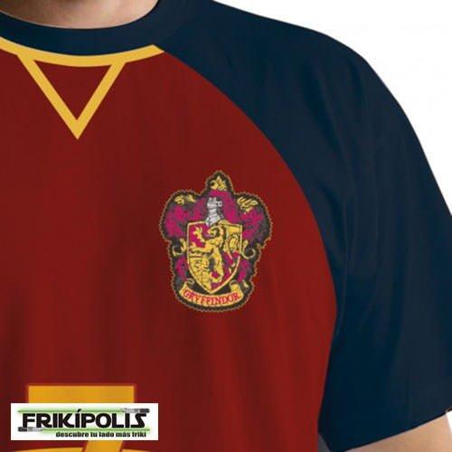 camiseta de juego harry potter quiddicth escudo