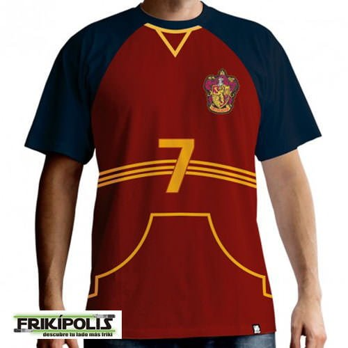 camiseta de juego harry potter quidditch