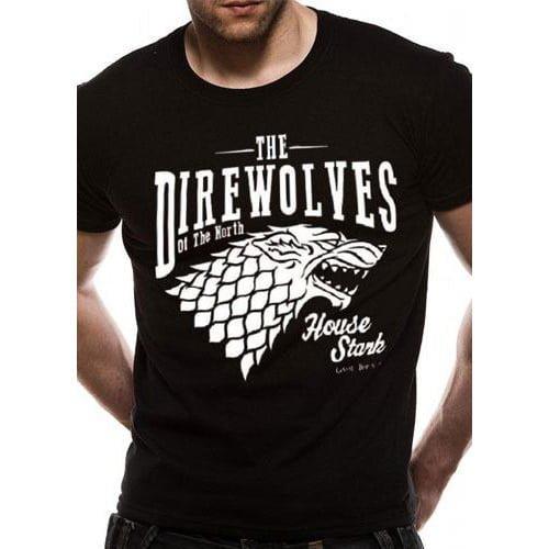 camiseta juego de tronos stark direwolves