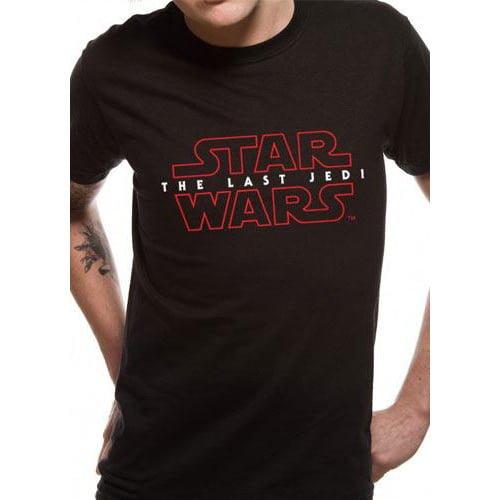 camiseta star wars los últimos jedi logo