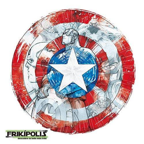 camiseta marvel escudo capitán américa classic