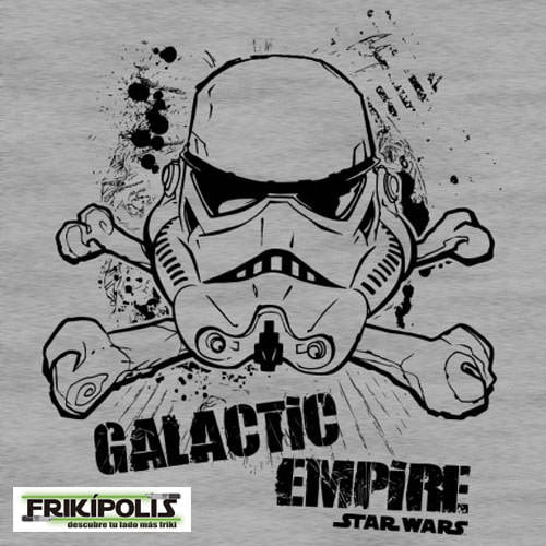 camiseta star wars imperio galáctico