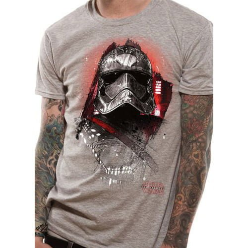camiseta star wars los últimos jedi capitana phasma