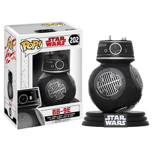 funko pop star wars los últimos jedi bb 9e