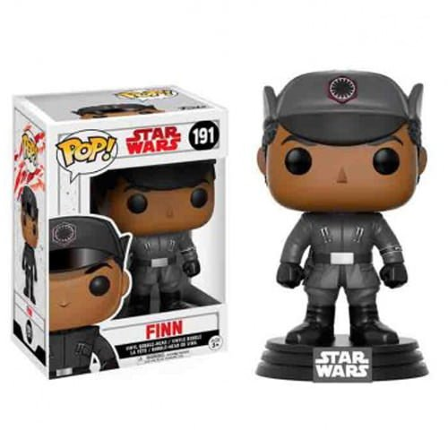 funko pop star wars los ultimos jedi finn
