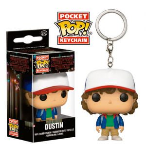 llavero mini funko stranger things dustin