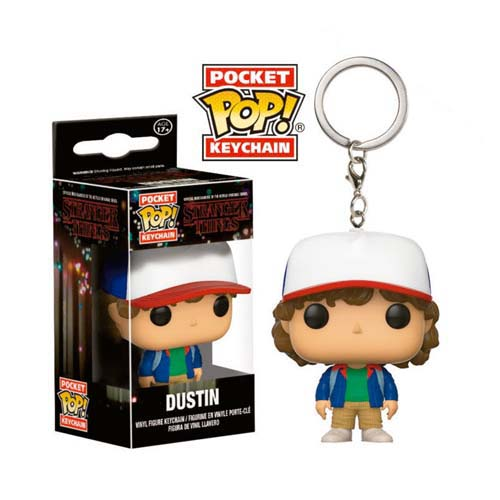 llavero funko stranger things dustin