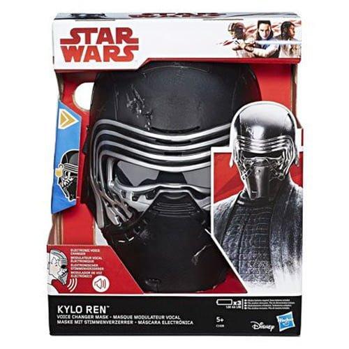 máscara star wars kylo ren con distorsionador de voz los últimos jedi