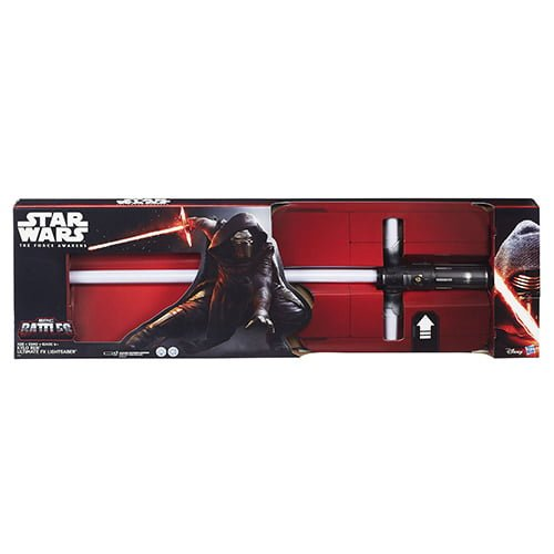 sable láser star wars ultima fx kylo ren hasbro