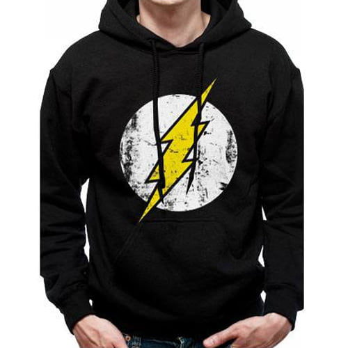 sudadera flash dc comics con capucha