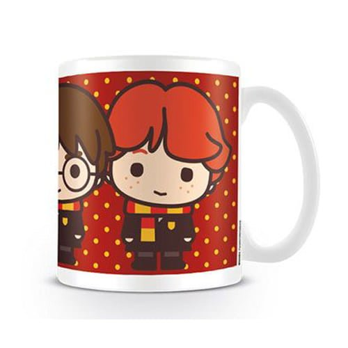 taza harry potter kawai harry ron y hermione