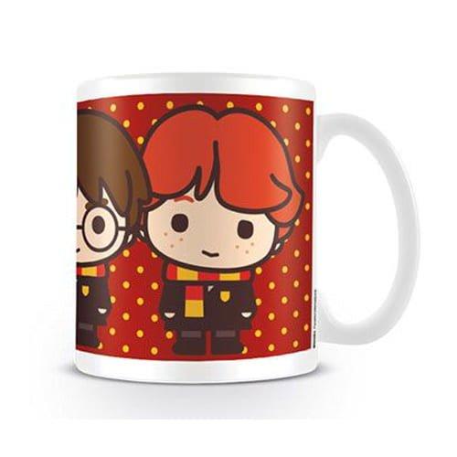 taza harry potter kawai harry ron y hermione