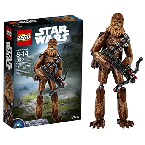figura lego chewbacca star wars