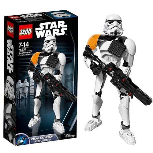 figura lego stormtrooper comandante