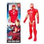 figura titán iron man de marvel