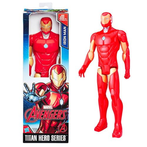 figura titán iron man de marvel