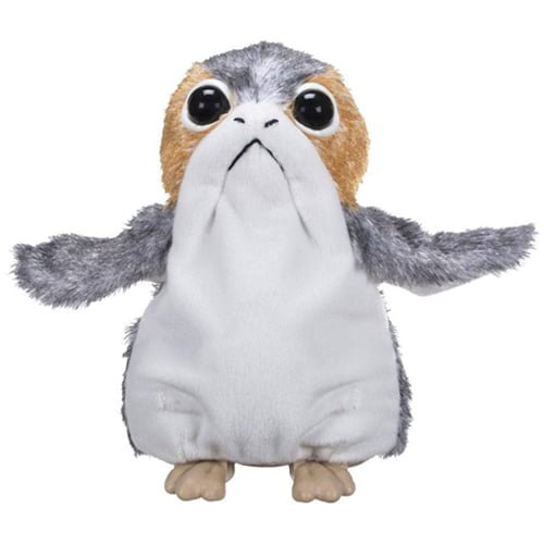 peluche interactivo porg star wars