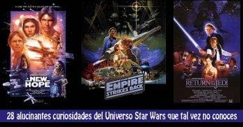 28 curiosidades universo star wars