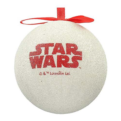 bola de navidad star wars han solo y leia