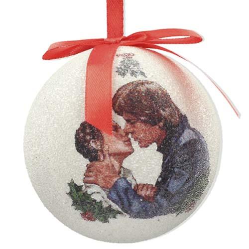 bola de navidad star wars han y leia