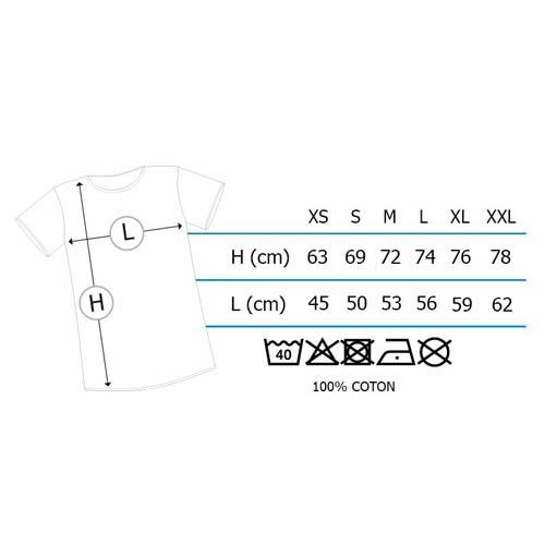 camiseta tallas shenron