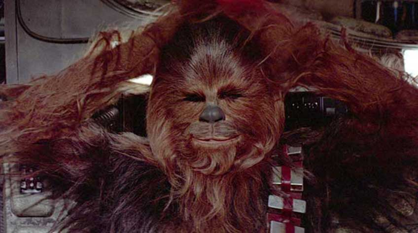 chewbacca universo star wars