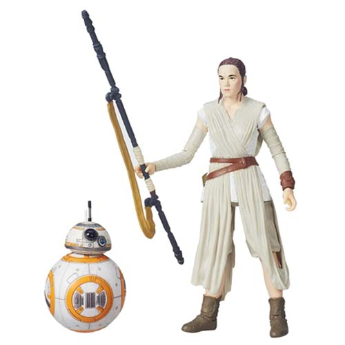 figura black series rey star wars