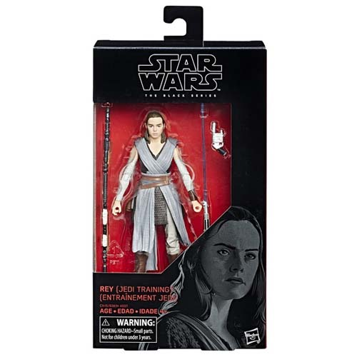 figura black series star wars rey