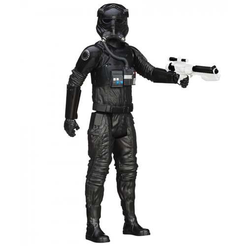 figura titan star wars tie fighter pilot