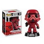 funko pop stormtrooper red