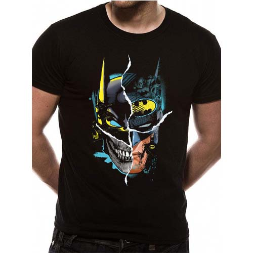 camiseta batman dc comics face