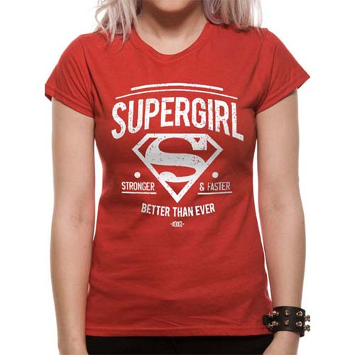 camiseta supergirl dc comics