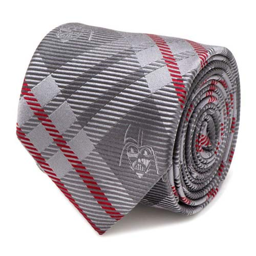 corbata star wars darth vader gris