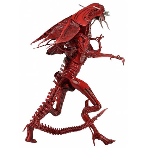 figura articulada alien red queen deluxe