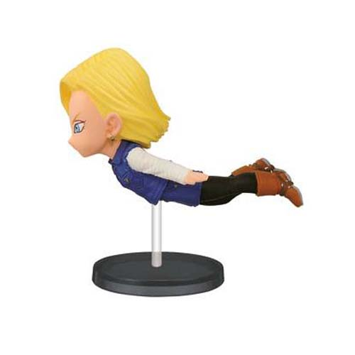 figura dragon ball z androide 18 chibi