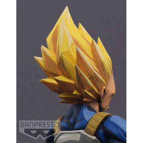 figura dragon ball z super saiyan vegeta