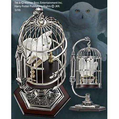 figura jaula hedwig harry potter