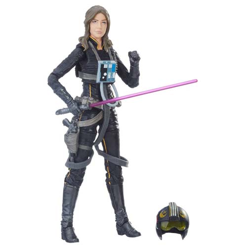 figura star wars black series jaina solo