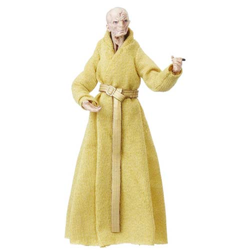 figura black series star wars snoke