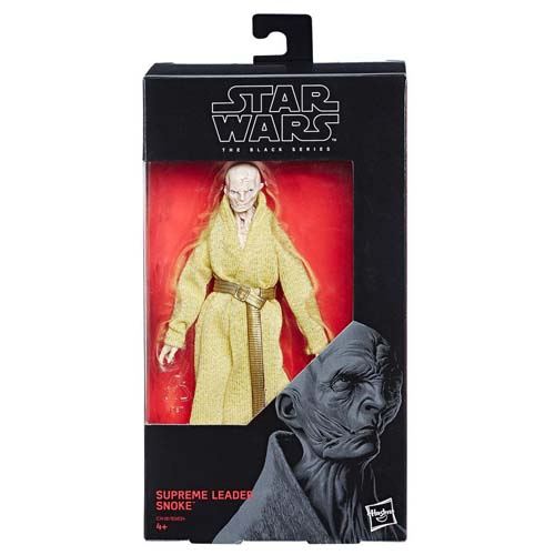figura star wars black series líder supremo