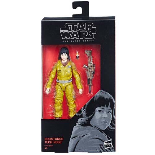 figura star wars black series tech rose