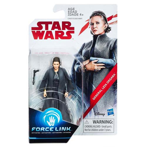 figura star wars leia organa force link