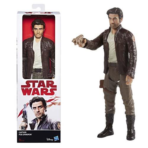 figura star wars poe dameron 30 cm