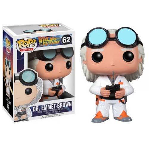 funko pop doc brown regreso al futuro