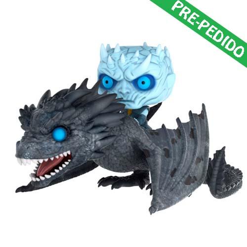 funko pop juego de tronos rey de la noche dragón