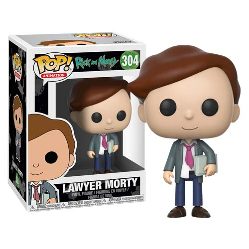 funko pop rick and morty lawyer morty